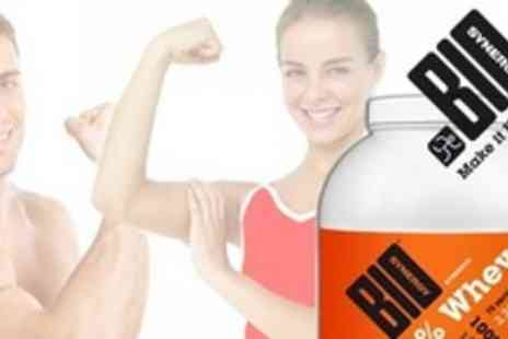 Bio-Synergy - 1kg Whey Protein Powder With Shaker - Save 55%