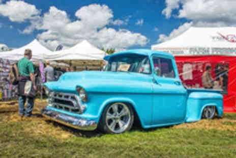 No Limits Events - Tickets to Hot Rod Car Show with a Programme Each - Save 27%