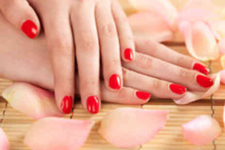 Urban Oasis  - Shellac Manicure and Prosecco for up to Four - Save 46%