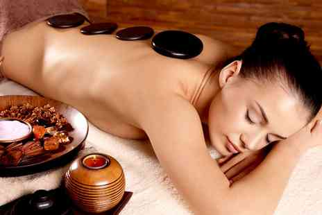 New London Salon - Choice of Massage Plus Express Facial - Save 68%