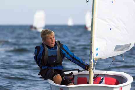 Southampton Water Activities Centre - Water Fun Activity Day with Sailing, Paddle Boarding and Raft Building - Save 44%