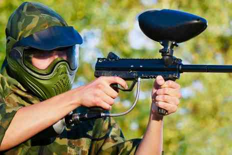 Ironsight Urban Paintball -  100 Balls Plus Lunch and Ammo Four Five - Save 81%
