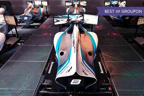 Lets Race - F1 Racing Simulator Experience   - Save 55%