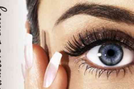 Alternative Beauty - Calgel Nail Overlays With Eyelash Extensions - Save 63%