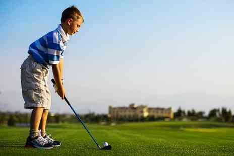 A S Brook Golf - Two Hour Junior Golf Coaching Session - Save 0%