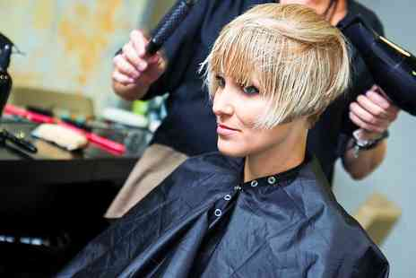D J & Ward - Cut and Blow Dry  With Colour   - Save 0%