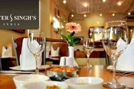 Mister Singhs - Curry Meal For Two - Save 51%