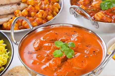 Spice Village - Two Course Indian Meal With Side For Two - Save 51%