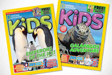 Ngkids - Six Month  National Geographic Kids Subscription, Delivery Included - Save 55%