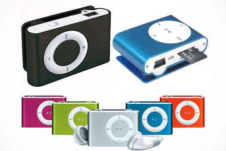 Shuffling MP3 Player - Shuffling MP3 Player, Delivery Included - Save 77%