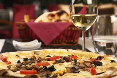 Gali - Pizza or Pasta For Two With Wine  - Save 55%