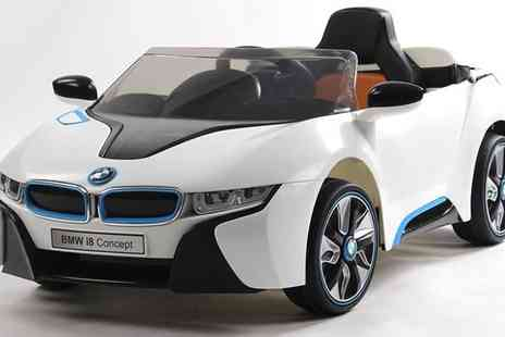 Turborevs  - 12v Electric Official BMW I8 Ride On Car - Save 40%