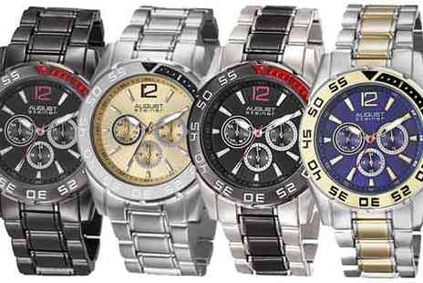 Buy Bay EU  - August Steiner Mens Watches - Save 84%