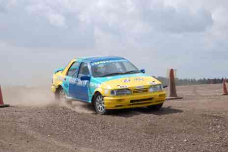 Langley Park Rally School - Eight lap rally extra experience for one  - Save 0%