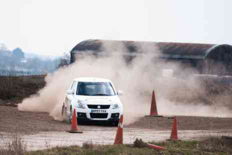 Langley Park Rally School - 10 lap half day experience for one - Save 0%