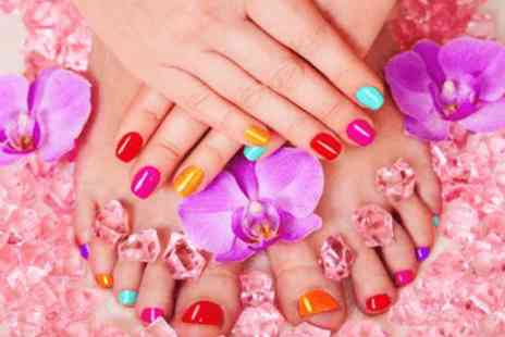 Lets Face It - Shellac manicure & shellac pedicure based inside Xercise4Less Liverpool - Save 0%
