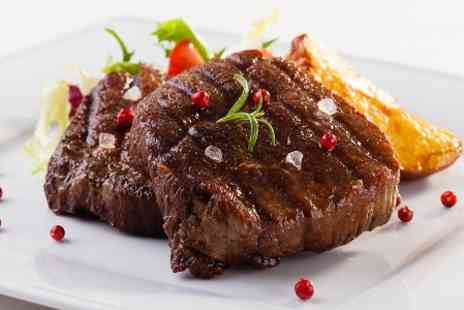 The White Rooms  - Two Course Steak Dinner With Wine Two  - Save 58%