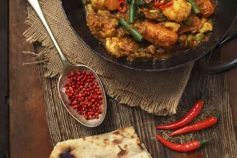 Sampan Indian Restaurant - £20 to Spend on Indian Food and Drink for Two - Save 75%