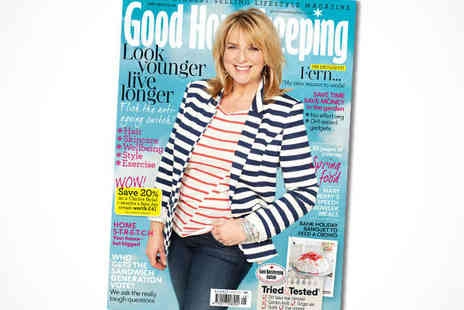 Good Housekeeping  - One-Year Subscription to Good Housekeeping, Delivery Included - Save 55%