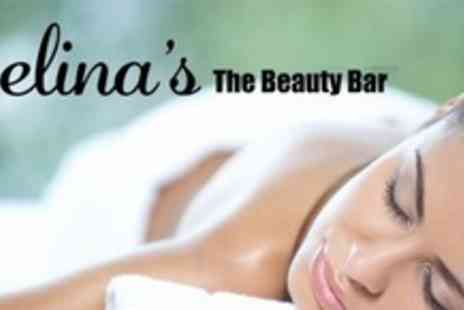 Selinas The Beauty Bar - Full Body Aromatherapy Massage With Foot Spa Plus Face and Scalp Massage - Save 75%