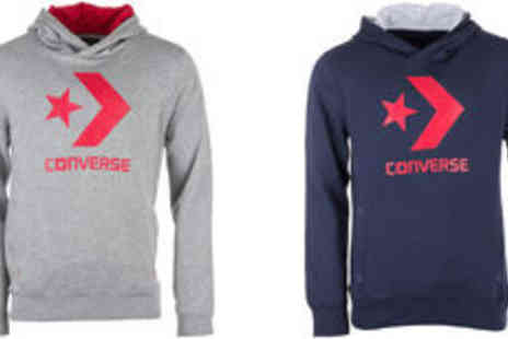 GetTheLabel - Mens Converse hoodie in grey or blue  plus delivery  - Save 0%