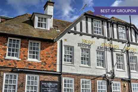 The Hope Anchor Hotel - One Night Stay For Two With Breakfast - Save 63%