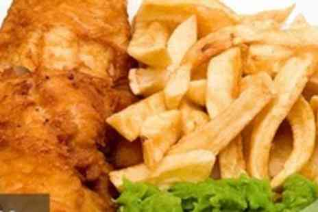 The Cod Father - Chip Shop Takeaway Meal For Four With Choice of Mains, Chips, Sides and Drink - Save 58%
