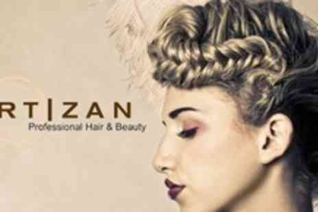 Artizan Professional Hair - Half Head Highlights or Full Head Colour With Cut, Condition and Finish - Save 74%
