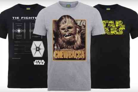 Printed Wardrobe - Star Wars T Shirt - Save 50%