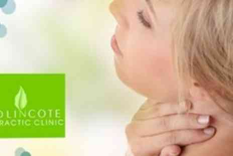 Swadlincote Chiropractic Clinic - Chiropractic Consultation With Examination Plus Back, Neck and Shoulder Massage - Save 72%