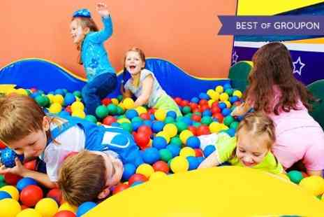 Jangala Softplay -  Entry For Two Children to Jangala Soft Play With Beaker of Juice Each  - Save 52%