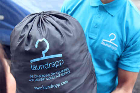 Laundrapp -  £20 laundry credit to spend with collection and delivery included  - Save 75%