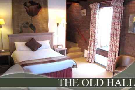The Old Hall Hotel - One Night Stay For Two in Superior Double Room With Breakfast and Dinner for £69  - Save 60%
