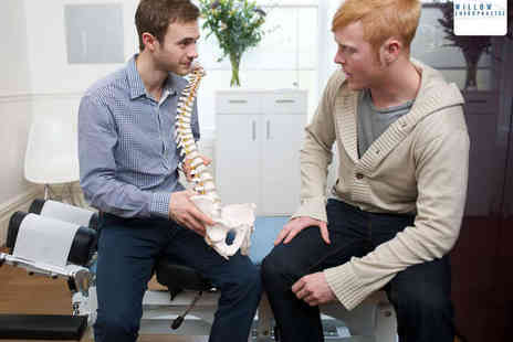 Willow Chiropractic - Chiropractic Assessment with One Treatment - Save 75%