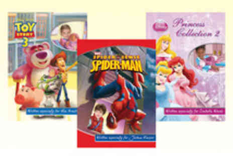 Identity Direct - Personalised Kids Photo Adventure Story Books with Disney, Marvel and Nickelodeon Characters - Save 52%