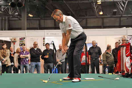 The Golf Show Group - Two Tickets to The Manchester Golf Show  - Save 31%