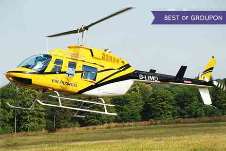 Elite Helicopters - Helicopters Sightseeing Tour of the South Coast - Save 0%