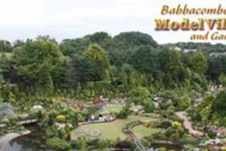 Babbacombe Model Village - Entry For Two Adults - Save 50%