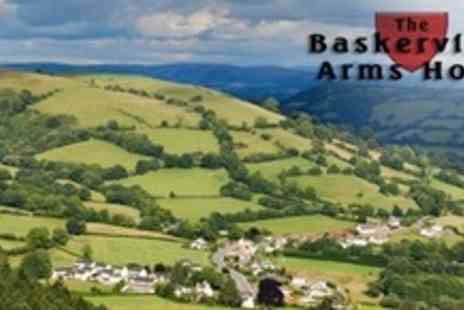 The Baskerville Arms Hotel - Two Night Stay For Two With Breakfast - Save 50%