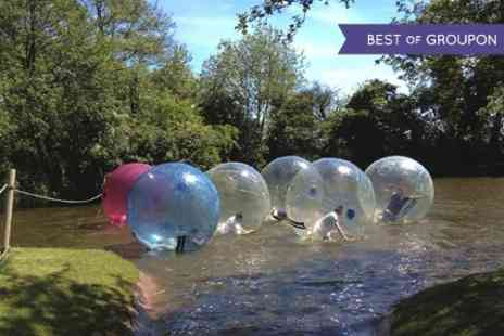 Pump It Up Events - Water Zorbing Experience  - Save 50%