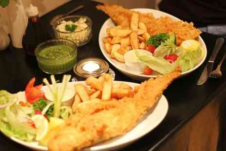 Fishers - Fish and Chips With Drink  - Save 53%