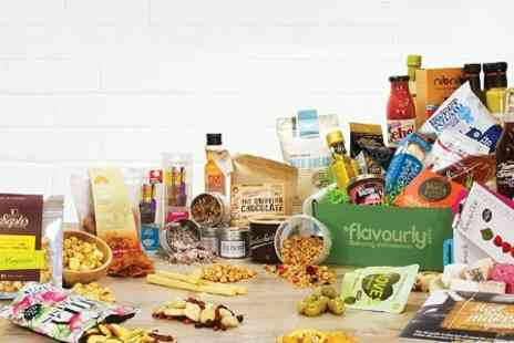 Flavourly - Flavourly Gourmet Snack or Craft Beer Discovery Club Subscription  - Save 83%
