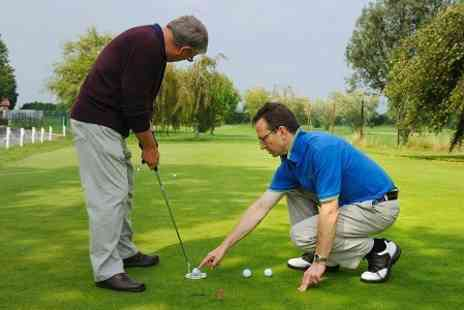The Golf Swing Company - 45 Minute Golf Lesson With Video Analysis - Save 67%
