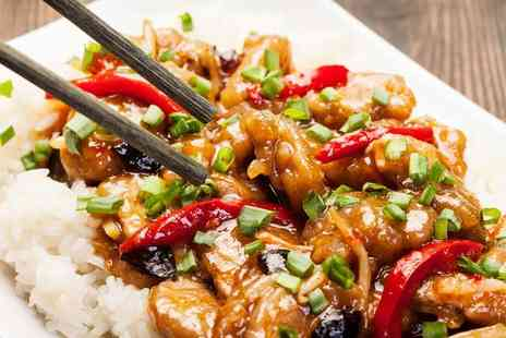 Ichai -  Chinese meal for 2 including sides and prawn crackers  - Save 55%
