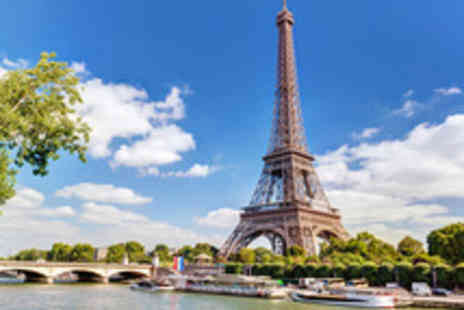 ShortBreaks - Two Night Paris Summertime City Break with Lunch on the Eiffel Tower and a River Cruise - Save 37%