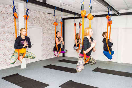 Aerial Yoga - Five Aerial Yoga Classes - Save 40%