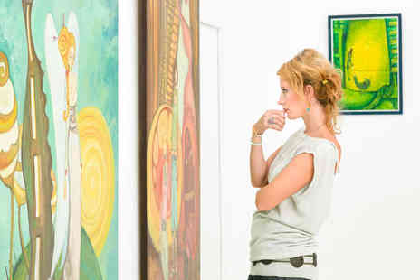 The Royal College of Art - Two Tickets to the 2021 International Art Fair - Save 44%