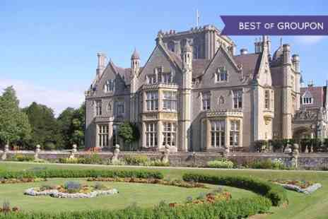 Tortworth Court Hotel - Afternoon Tea With Sparkling Wine For Two - Save 35%