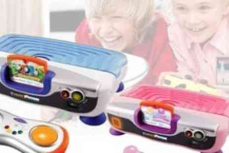 Kids Playstore.com - VTech Learning Console With Cinderella or Thomas and Friends Game Plus Four Additional Games- Save 55%