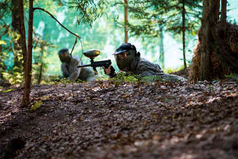 Paintball South - Paintball day for 5 including 100 paintballs & lunch each  - Save 60%